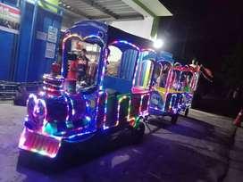 DOV Jual odong kereta motor Thomas sepeda air mainan koin