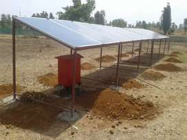 Solar system for water pump
