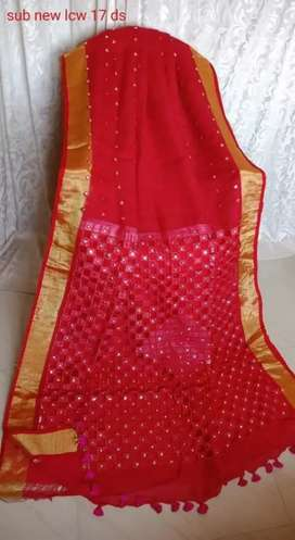 Linen by linen saree