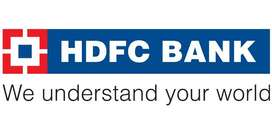 Hiring for HDFC Bank LTD for all india.
