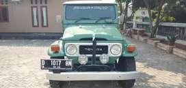 Mobil Antik Warisan Babeh Toyota Hard Top Land Cruiser 1979