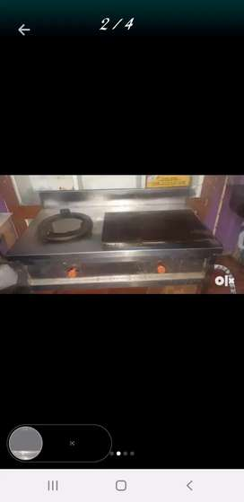 Dosa stand with one stove burnal