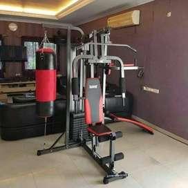 home gym 3 sisi+samsak pasang di rumah