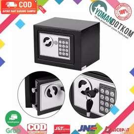 17E Taffware Brankas Mini Electric Password Safe Deposit Box 4.6L