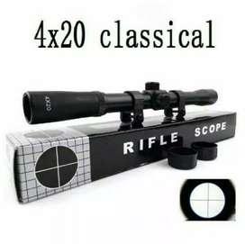 Teropong Teleskop Riflescope 4x20