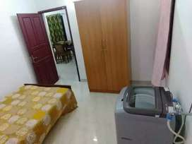 Fully furnished 2 BHK for rent with air conditioned bedrooms
