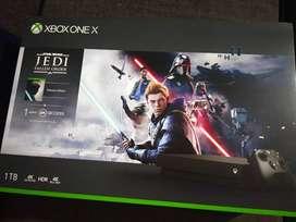 Brand New Sealed Xbox One X with Star Wars (Jedi Fallen Order)