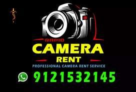 Rapid camera rent,  కెమెరాలు అద్దెకు ఇవ్వబడును...