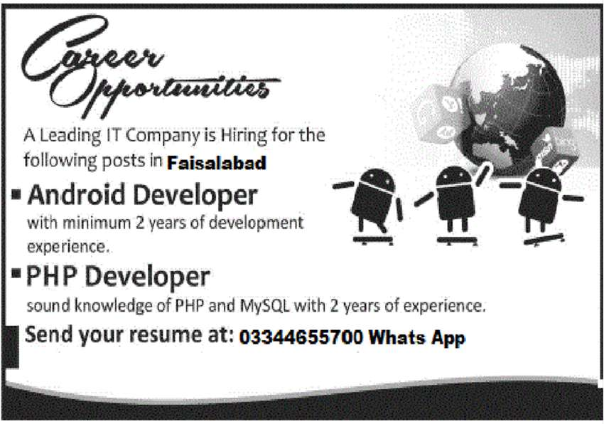 Android &PHP Developer 0