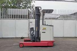 Nichiyu Reach Truck 2.5 Ton Import Forklift Used Bekas