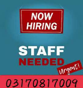 Jobs available for male and female