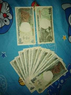 Uang kertas 500 rupiah tahun 1992