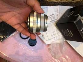 Lensa fujinon xf 35mm f2.0 fujifilm ex FFID