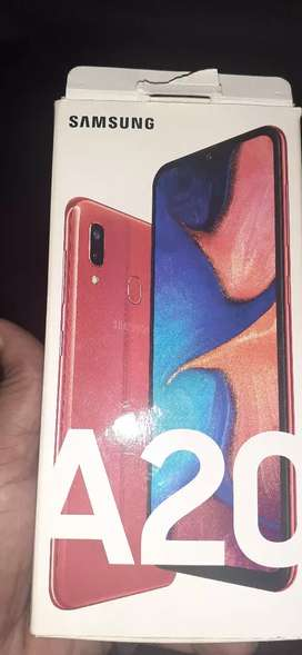 Red coloured mobile