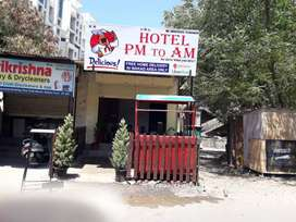 Hotel on rent full furnished at wakad