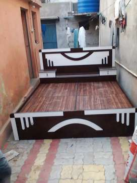 King size bed 6*6.5*2.1/4