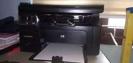 One year used Printer + Scanner