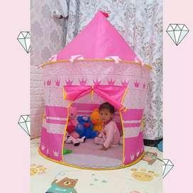 Tenda castle buat anak anak