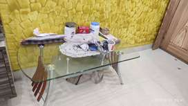 4 chair dinning table+ tea table