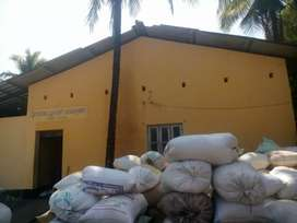 Rice mill and cashew factory for sale with borwell