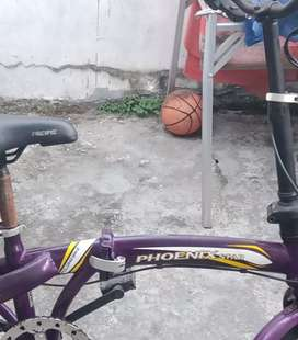 Sepeda lipat anak  UK 16 pheonix