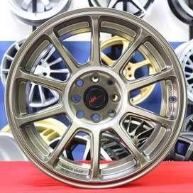 ZICO JD8137 R17x75/9 Lubang8 SMBRZ - HSR Velg/Pelek Mobil Import