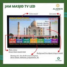 Jual Jam Masjid Tipe TV LED
