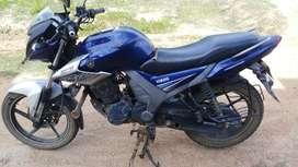 Blue colour Yamaha sz Rr  in single owner