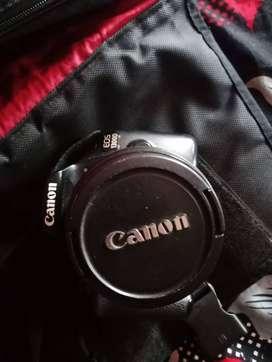 Canon 1300D 2lens 18-55 55-250 good condition