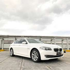 Bmw 520d F10 2012 White On Red diesel