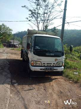 ISUZU ELF NKR71HD Harimau Dump Truck