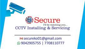 CCTV instalation and services