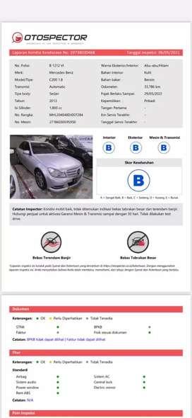 [Full Record Service] Mercedez Benz C200 CGI 1.8 2013 Low KM Mercy