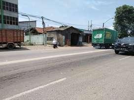 Dijual Murah Tanah Komersial Di jln Raya Bitung Cikupa Tangerang