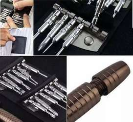 Obeng Set Reparasi Hp gadget Trox screw 25in 1