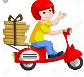 Delivery boys new vacancies are open in online companies freshers can