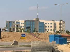 Commercial Plot Bahria Town Head office facing at MIDWAY Available