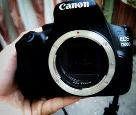 Canon EOS 1200d With 18-55mm kit lense