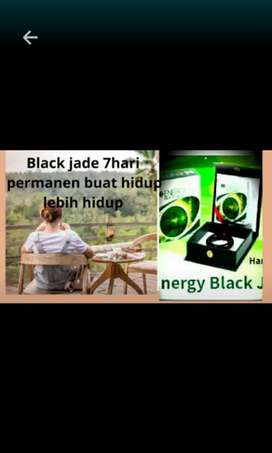 Black jade giok asli