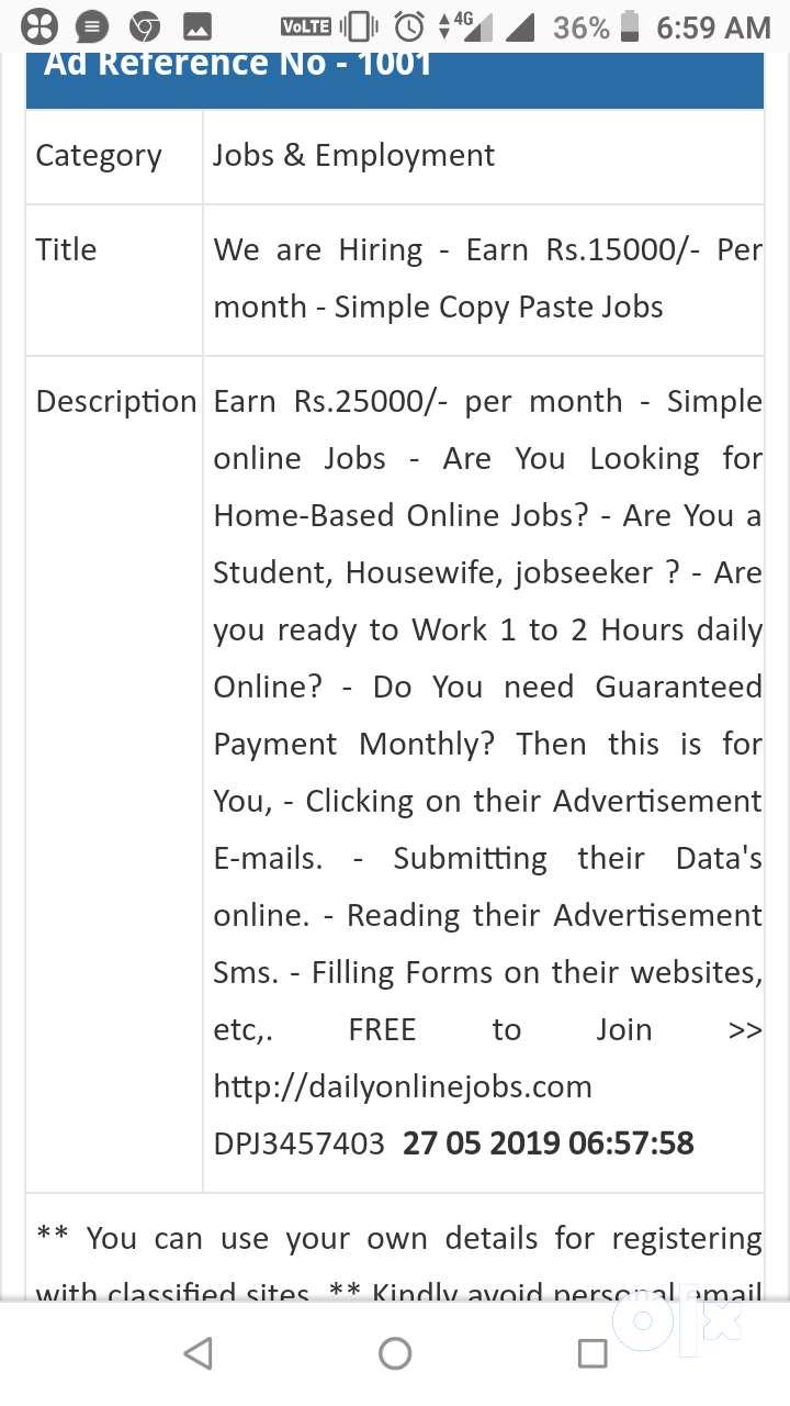Job home based 0
