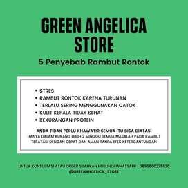 Obat Kebotakan Green Angelica Penumbuh Rambut Tercepat