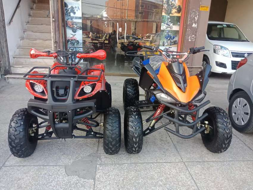 Sports Raptor 150cc Atv Quad 4 Wheels Bike with New Features 0