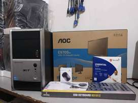 GAMING CONFIG SYSTEM (4GB RAM-500GB HDD)**ALL SUPPORT** AVAILABLE