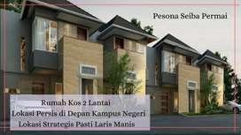 JUAL Rumah KOST 2 Lantai MURAH di Padang, Lokasi STRATEGIS Pasti LARIS
