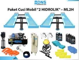 Paket usaha cuci mobil 2 unit hidrolik H long Paling Murah di PT DNS
