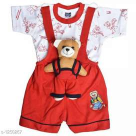 Elegant Printed Kids Clothing Set (COD)