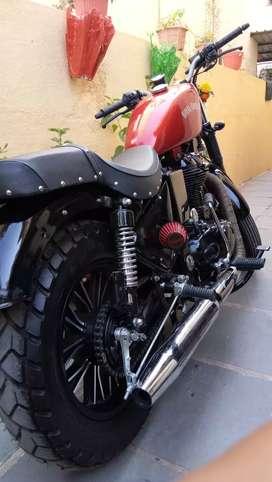 Modifide bike