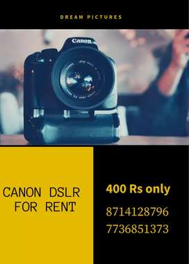 Camera For Rent - Alappuzha