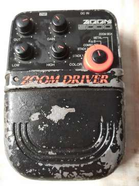 Efek gitar zoom driver 5000