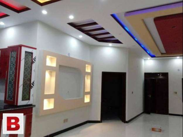 GULSHAN e Iqbal block two second floor with roof full tail flooring 0